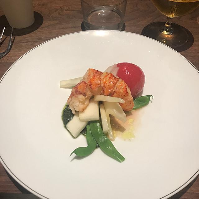 連載撮影した日のディナーに。お腹ぺこぺこだった柴咲さんはカツカレーを。