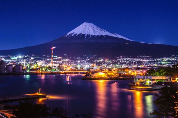 田子の浦 工場夜景