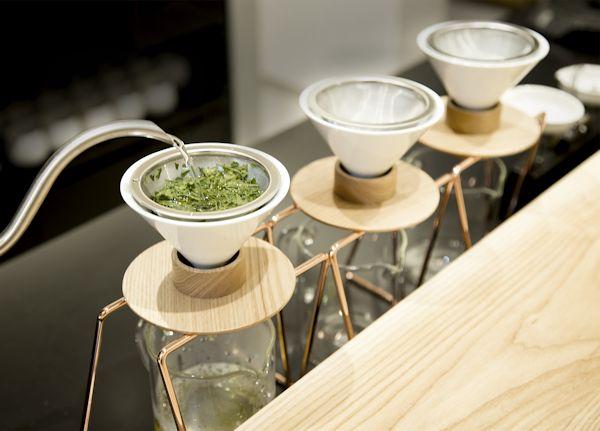 日本茶をハンドドリップで味わえる!? 日本茶専門店「東京茶寮」