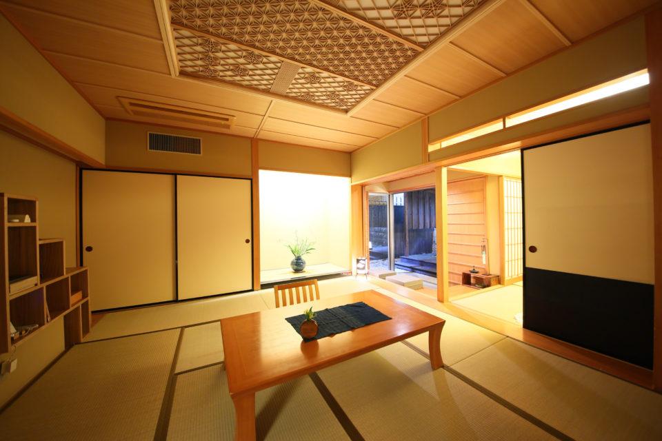 ご当地部屋でおもてなしをする、上質な温泉旅館[『星野リゾート 界 出雲』