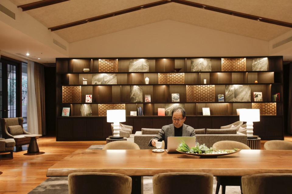 ホテル ザ セレスティン東京芝<br/>×<br/>グラフィックデザイナー・作家…