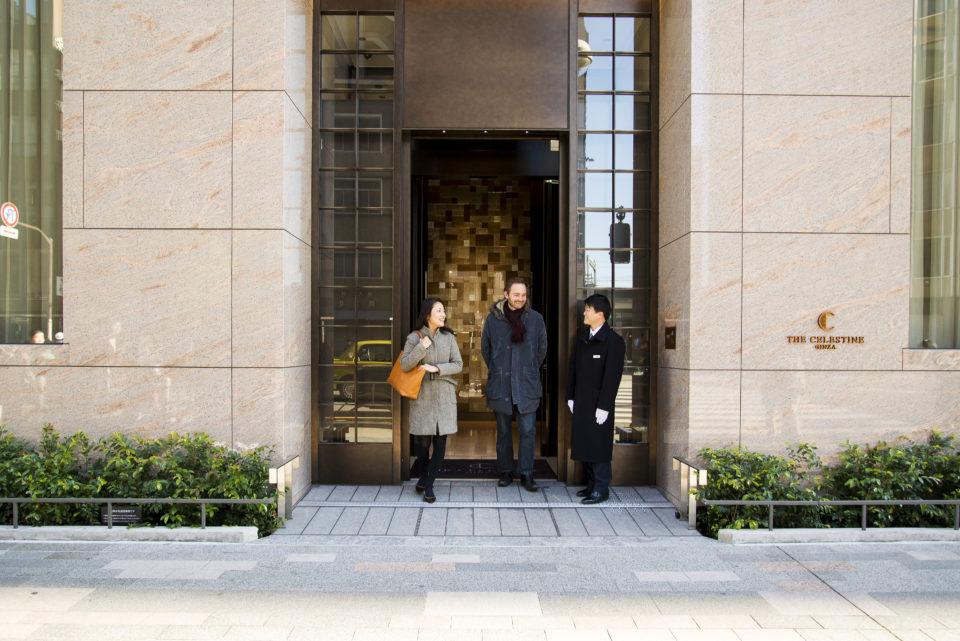 ホテル ザ セレスティン銀座 <br/>×<br/> Wallpaper*誌ジャパン・エディター イエンス・イエンセン