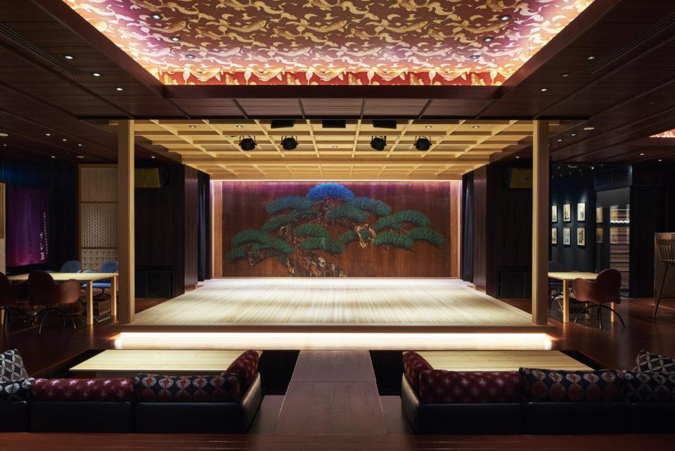 日本を代表する伝統芸能×食の体験<br> 劇場型レストラン&ラウンジ『水戯庵』が日本橋に誕生