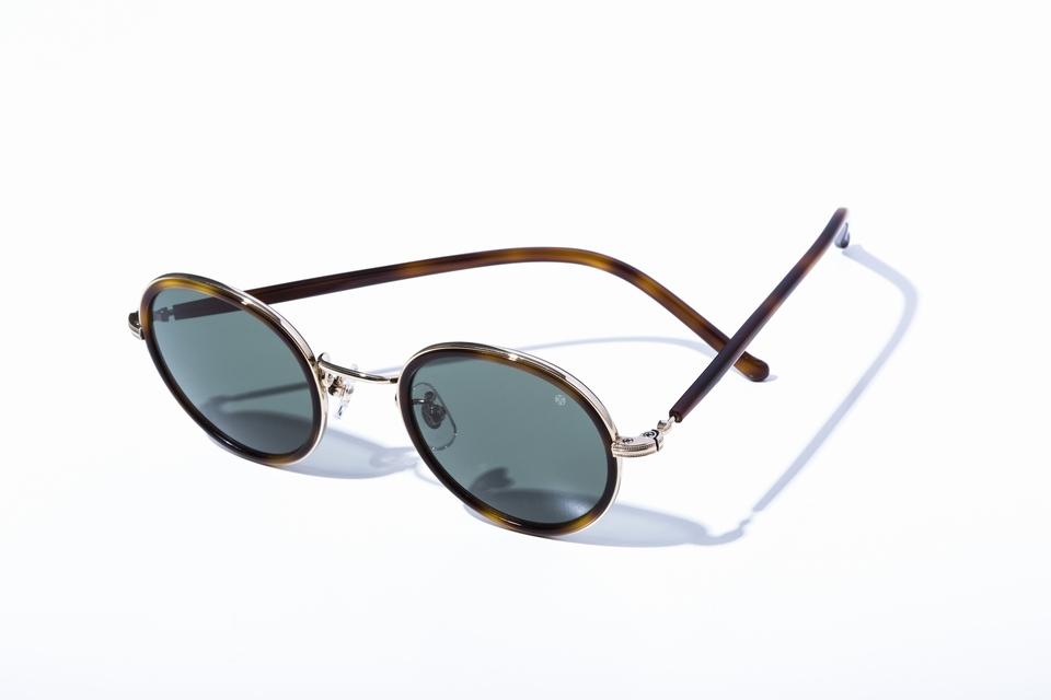 精巧につくられた日本人に似合うサングラス<br>アヤメの「フォーカス」