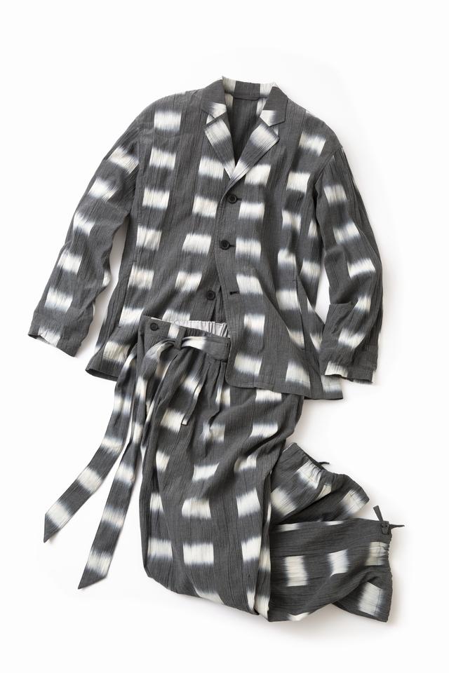 京都の職人技「絣染め糸」のセットアップ