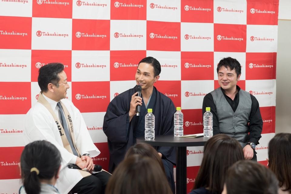 橘ケンチ、トークイベントで日本酒の魅力を語る