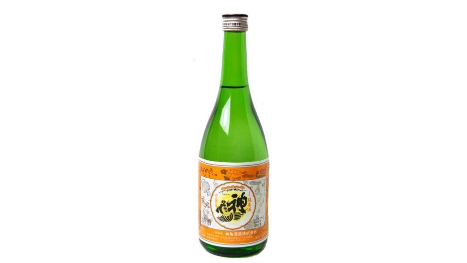 <b>「神田 新八 本店」佐久間丈陽さんの燗酒で飲みたい1本~神亀 阿波山田錦 二年熟成酒~。</b>