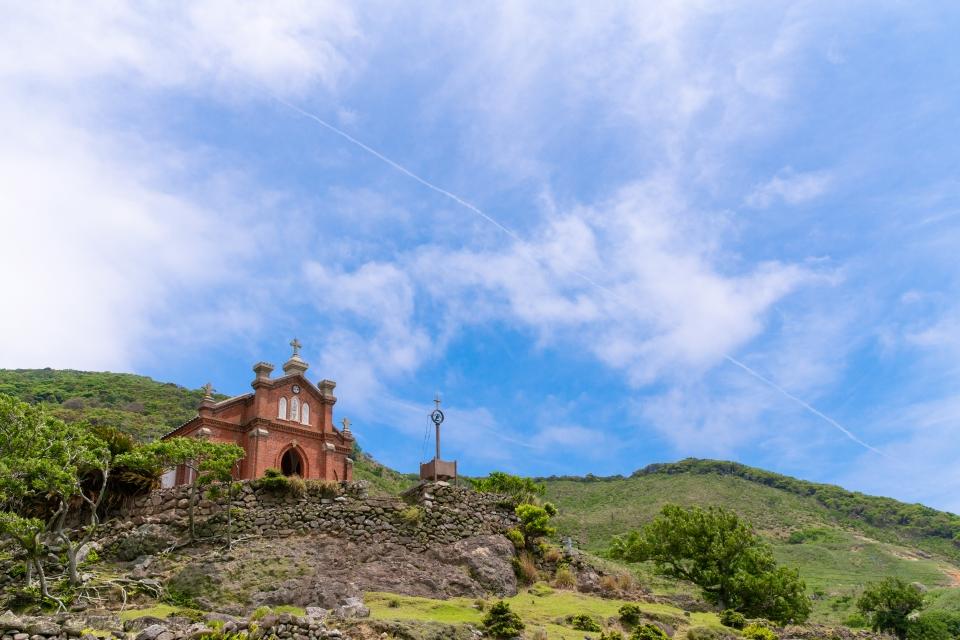 この夏は、長崎でのんびり島旅。</br>潜伏キリシタンが残した秘島「野崎島」