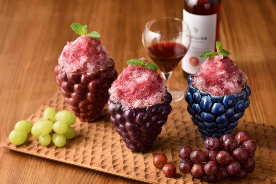 長野ワイン、加賀棒茶…… ご当地の魅力が、カキ氷に!