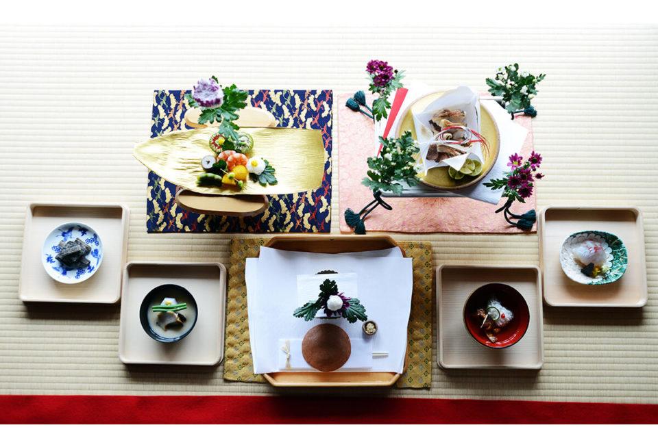 <b>なんと飾りだけの御膳も。松本栄文さんが案内する、雅やかな「有職料理」の世界…