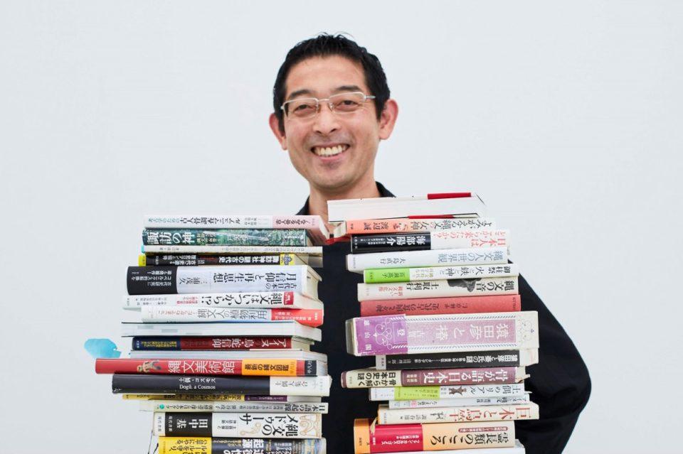 <b>縄文から抽象思考を育んだGRAPH代表取締役・北川一成さん。</b><br…