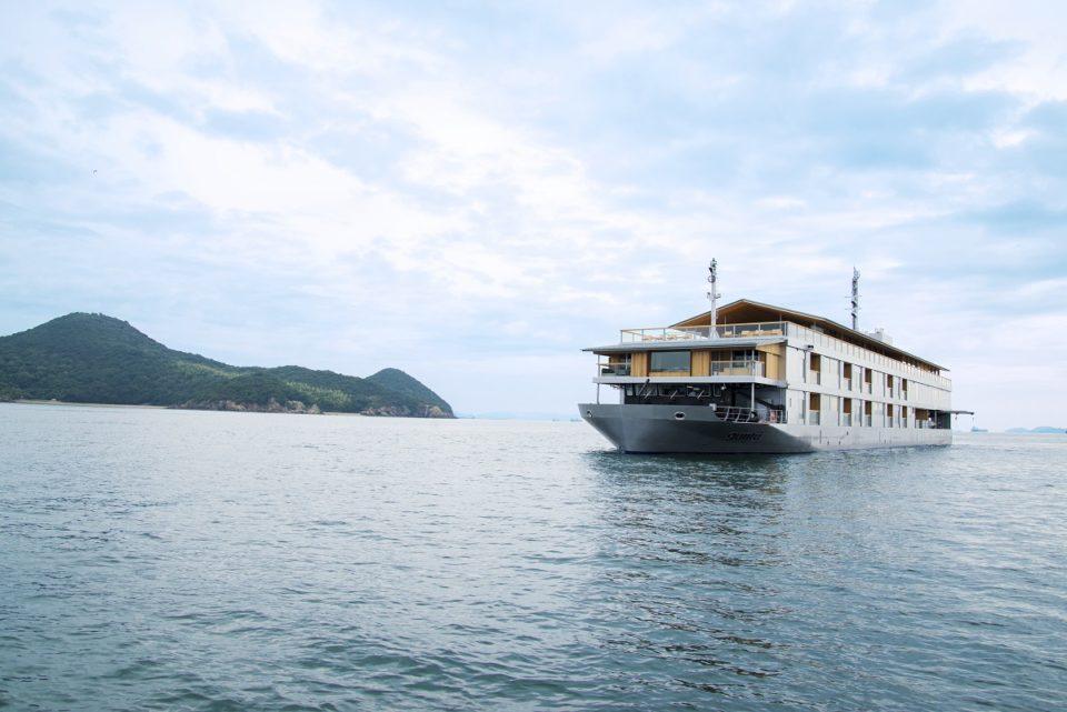 <b>瀬戸内海という名の芸術作品に浮かぶ名旅館「ガンツウ」。</b><br>瀬戸…