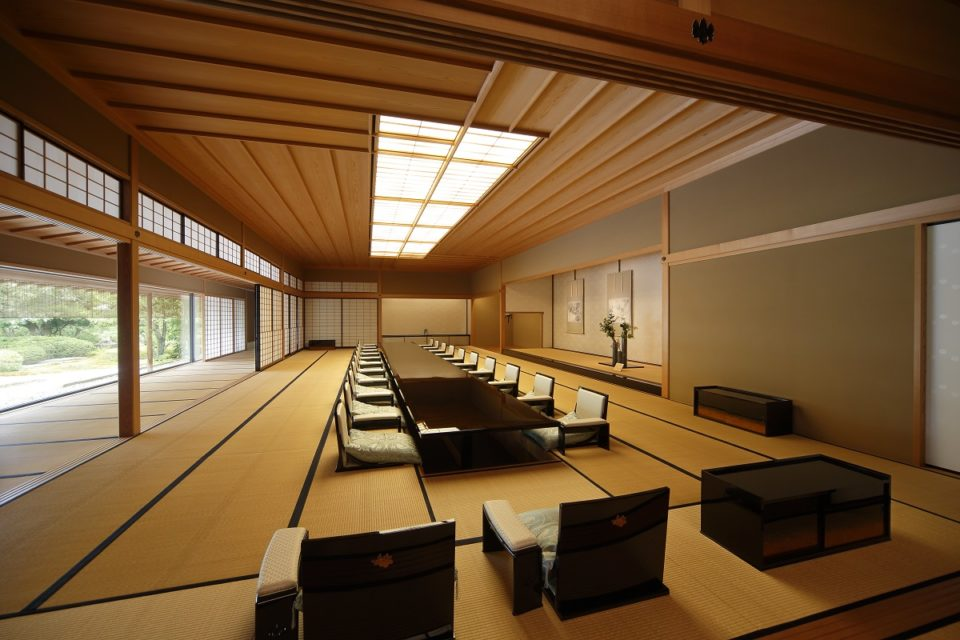 <b>日本の技と心が詰まったしつらえ。</b><br>京都迎賓館ってどんな場所?