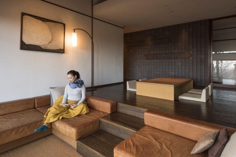 <b>那須連山のふもと「那須別邸 回」で多忙な日々に一息を。</b><br>クリ…