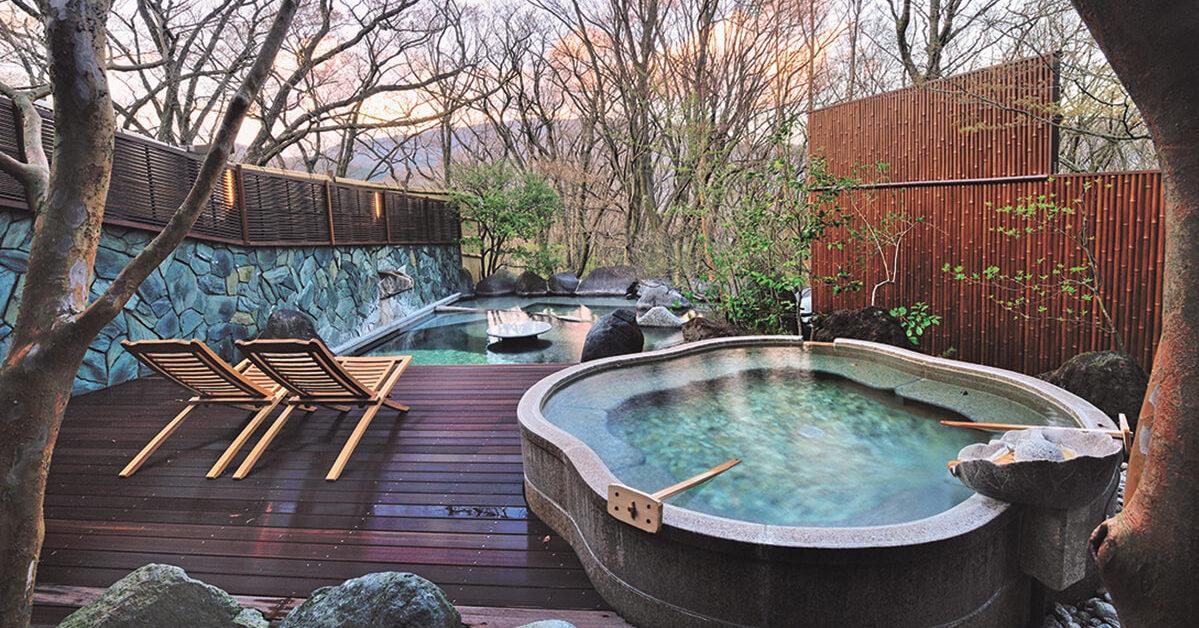 「強羅花扇 円かの杜」箱根で出会った泊まり心地のいい宿
