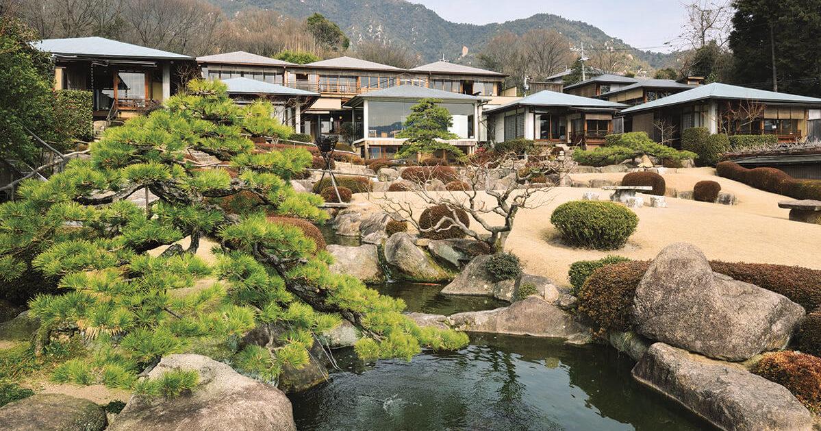 「庭園の宿 石亭」広島 宮浜温泉へ<br>日本屈指の名庭の宿を求めて。