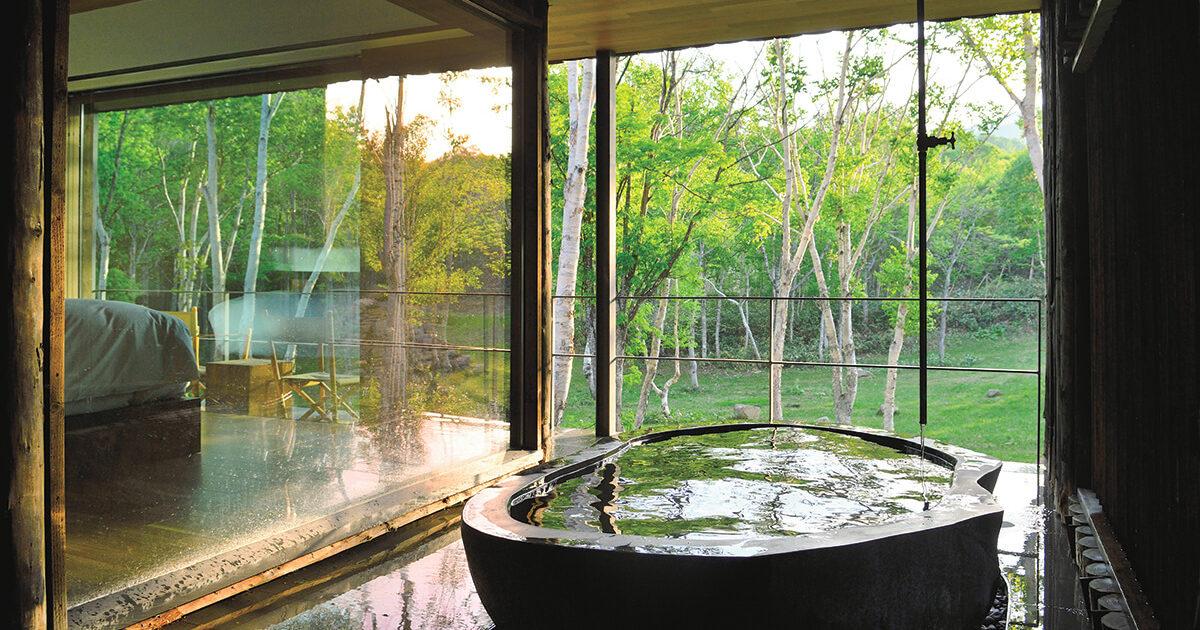 <b>世界が憧れる、原生林に佇む日本旅館「坐忘林」</b>