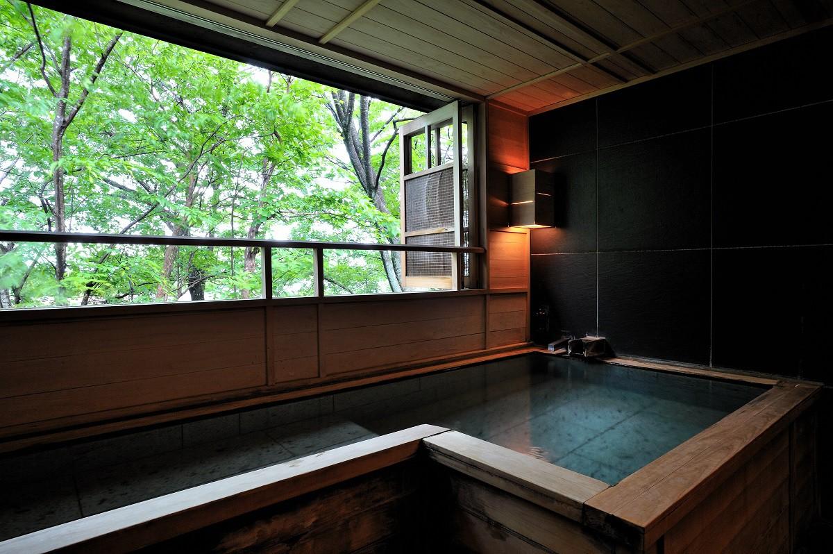 温泉付きの部屋がある全国名宿リスト