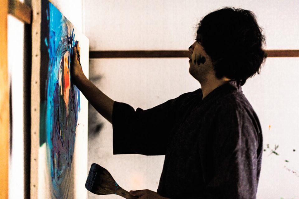 """<b>書道家・武田双雲が現代アーティストに。<br class=""""none"""" /…"""