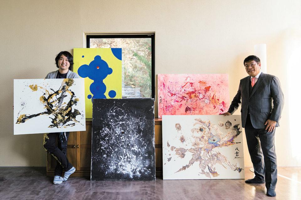 現代アーティスト・Souun♡に魅せられて<br><small>レオス・キャピタルワークス<br>代表取締役 藤野英人さん</small>