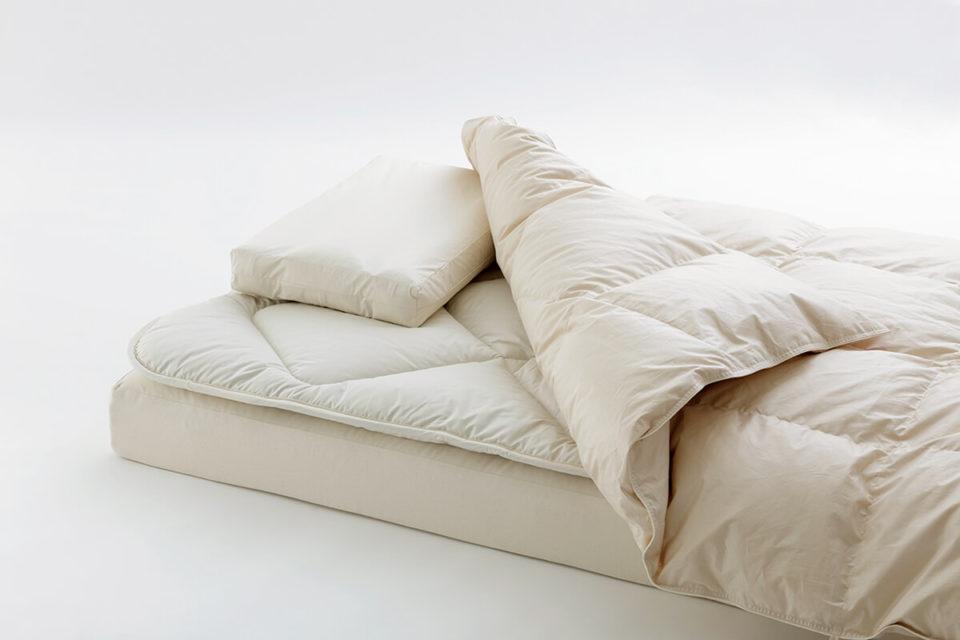 <b>サステイナブルな寝具で豊かな睡眠を</b>