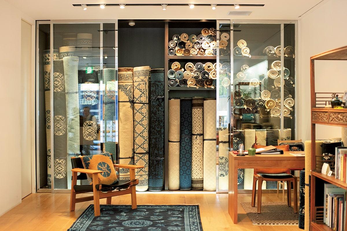中国ラグの専門店「MUNI南青山本店」<br>大熊健郎の東京名店探訪