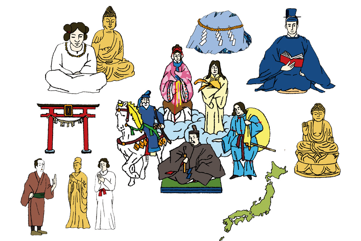 日本人なら知っておきたいニッポンの神様名鑑。時代で変わる神様のカタチ