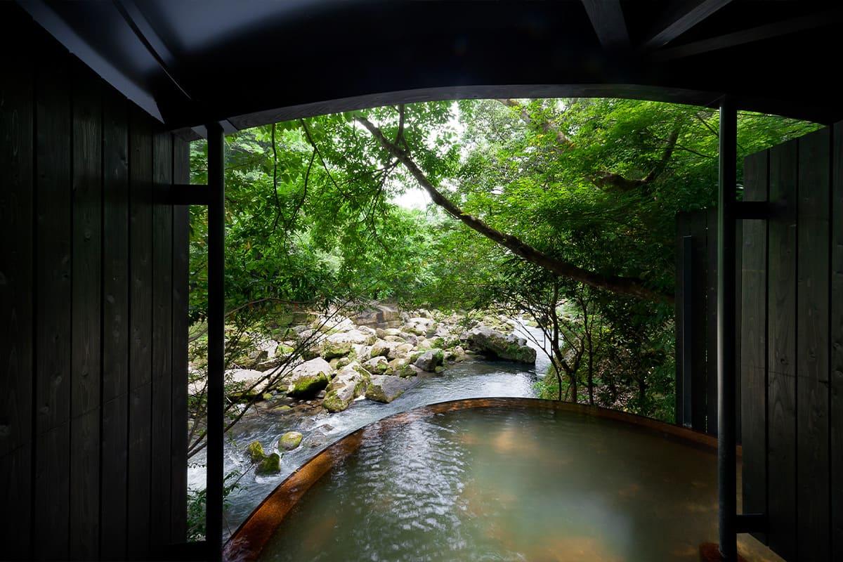 温泉へのこだわりに敬服。鹿児島の食も堪能『妙見石原荘』