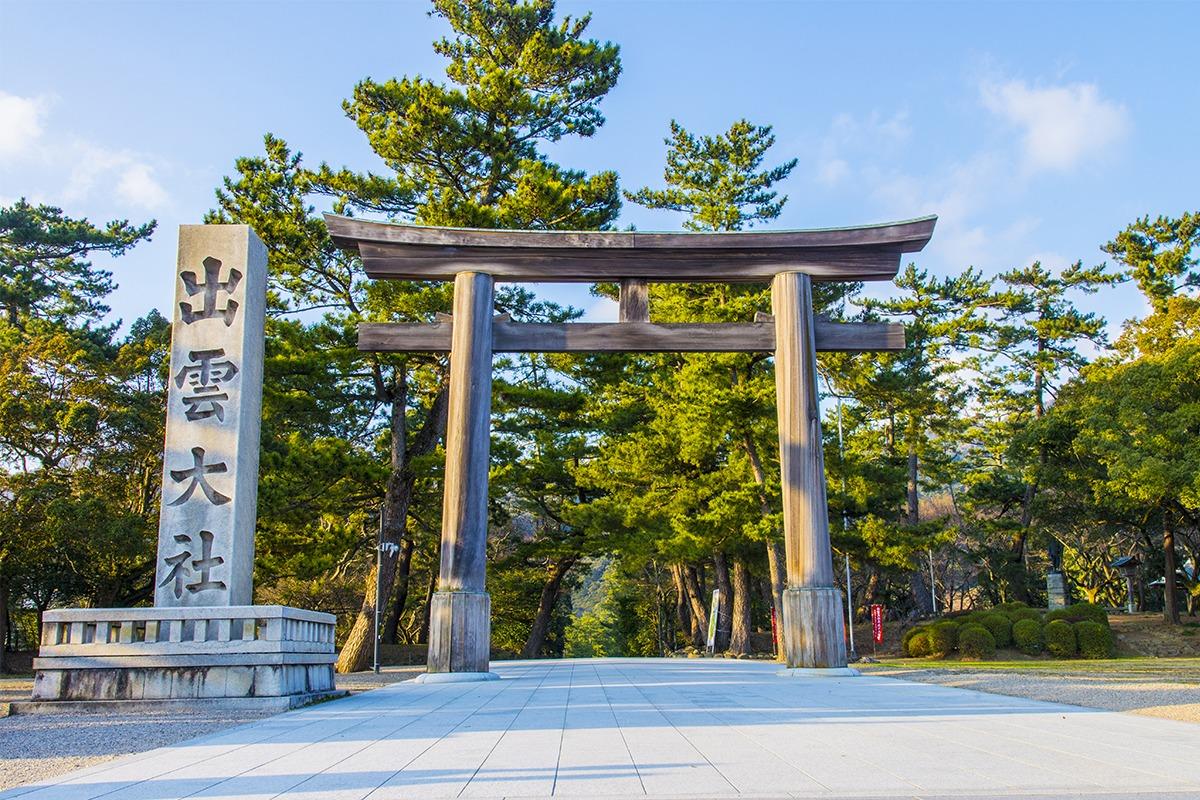 出雲神話の舞台として知られ<br>多くの神事が行われる「島根県」