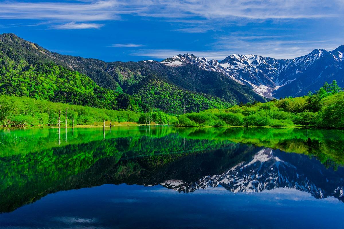 """「長野県」""""日本の屋根""""と呼ばれる数々の名峰による山のリゾート"""