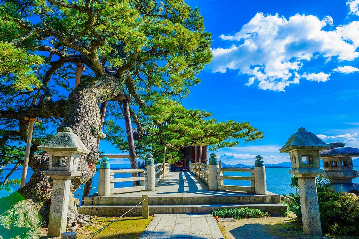 日本最大の湖の絶景レイクビュー<br>琵琶湖を有する「滋賀県」