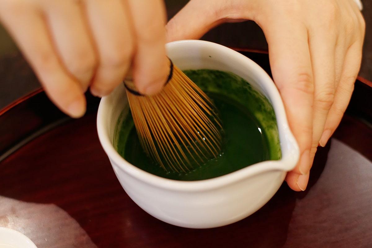 はじめての抹茶の点て方。<br>お茶のエスプレッソ「濃茶の練り方」編