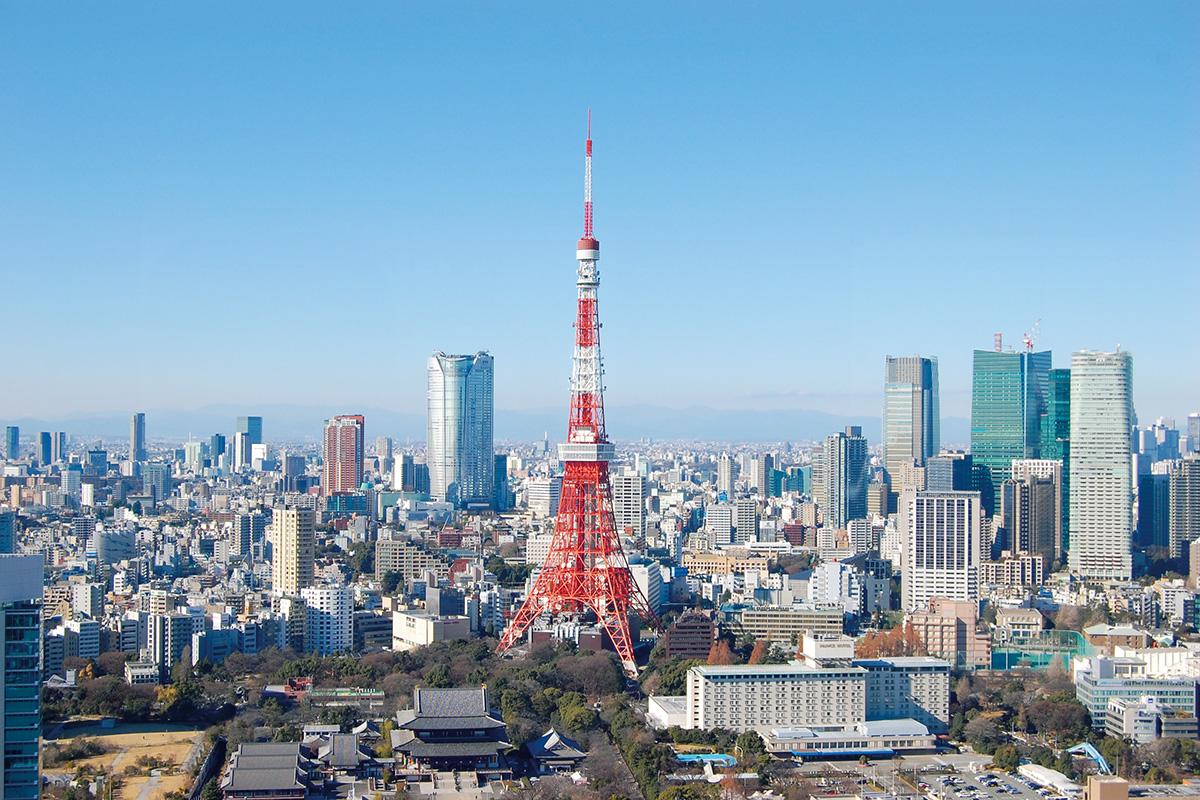 日本経済の心臓部<br>世界都市「東京都」