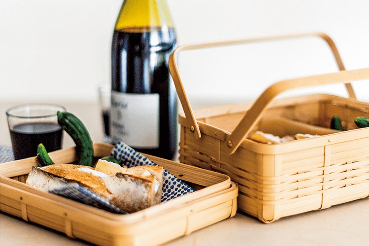 大分の真竹で作る四角い籠<br><small>高橋みどりの食卓の匂い</small>