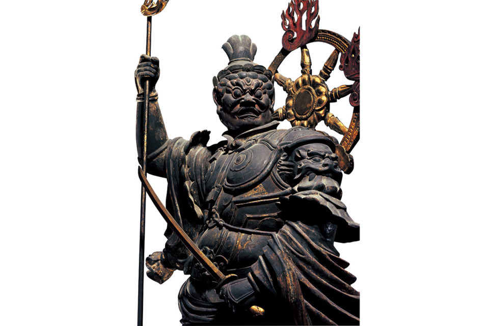 仏教の守護神「天」<br>空海が三次元化した密教の世界