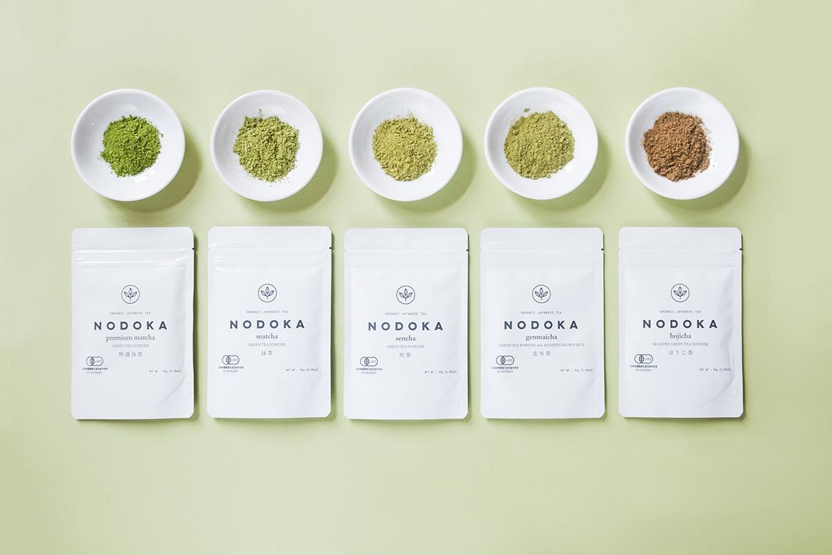 気軽に本格的なオーガニック日本茶を楽しめる・抹茶パウダー『NODOKA』