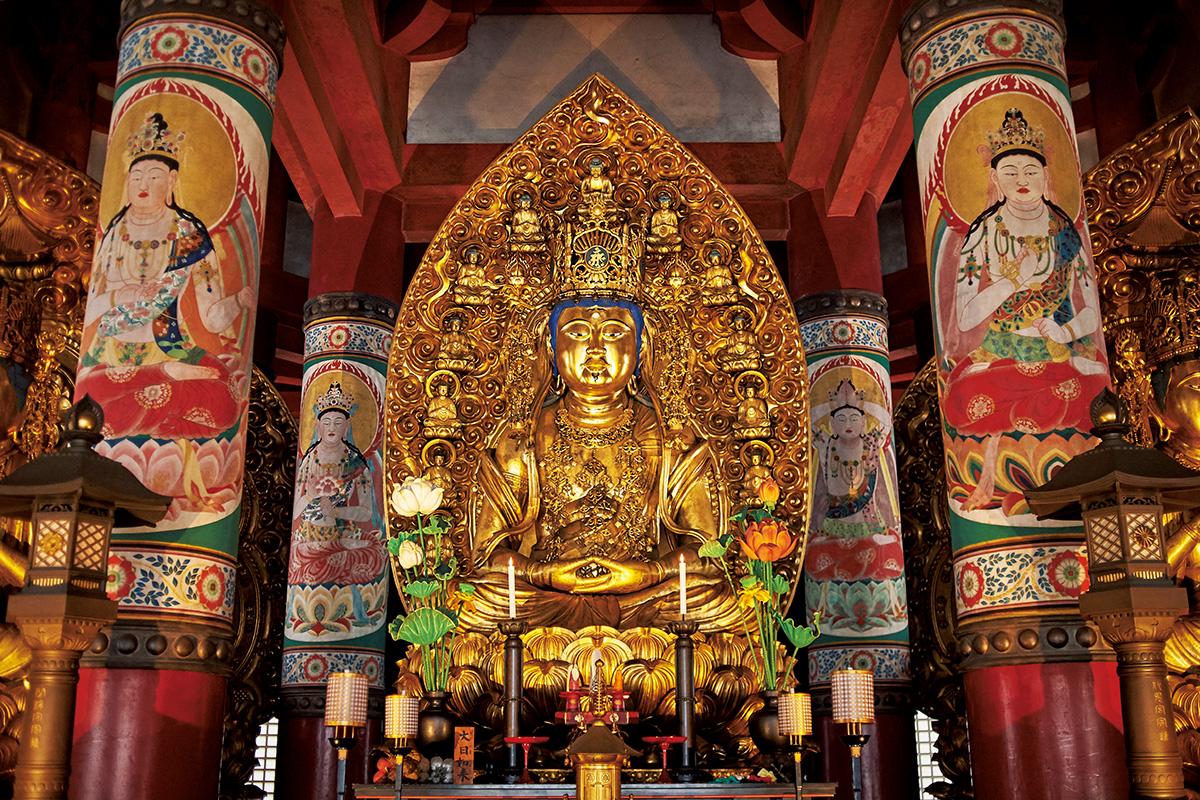 修行の場を曼荼羅化した「壇上伽藍」<br><small>空海の聖地を訪ねる。</small>