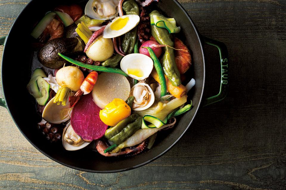 「ア・ニュ」下野昌平シェフ御用達のお取り寄せ&レシピ<br>「大島農園」の野菜でつくるココット蒸し