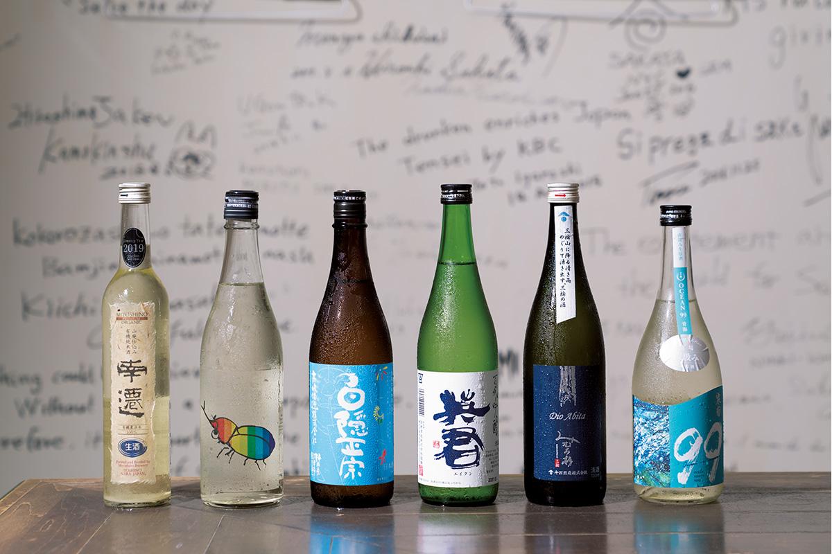 GEM by moto 店主 千葉麻里絵さんオススメ<br>夏にときめく日本酒6選!