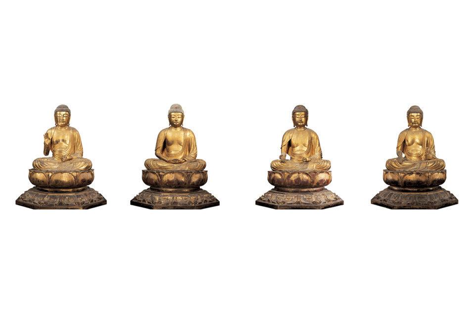 仏ならではの智慧を表す「五智如来」<br>空海が三次元化した密教の世界