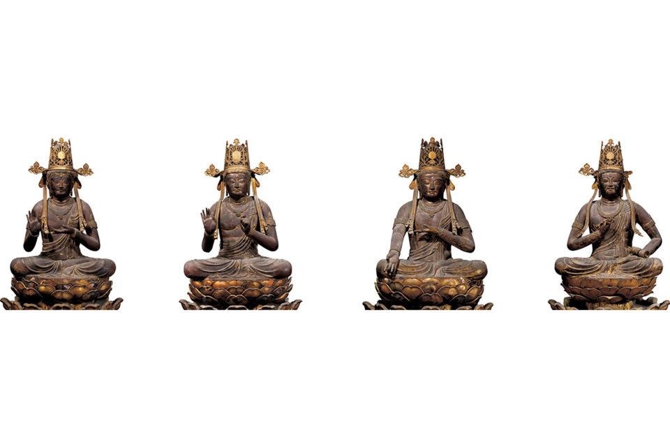 五智如来の化身「五大菩薩」<br>空海が三次元化した密教の世界