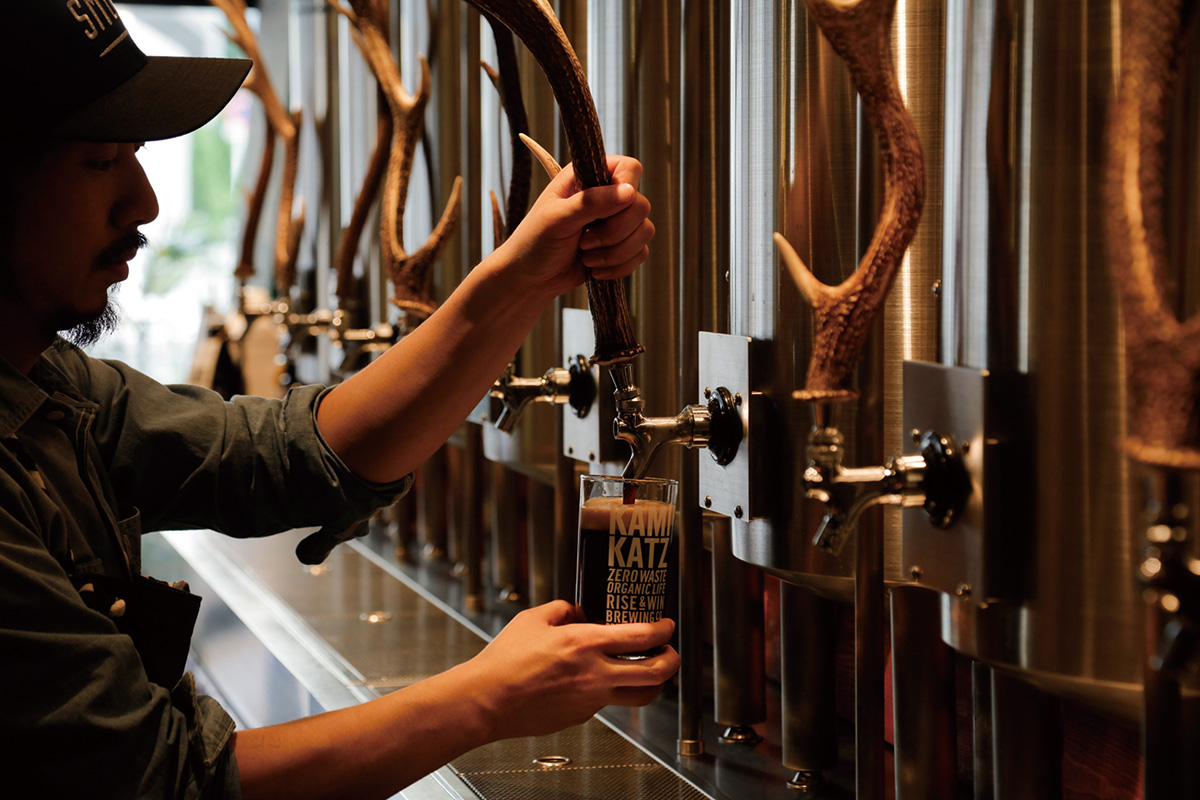 RISE & WIN Brewing Co.  KAMIKATZ TAPROOM<br>徳島・上勝町の魅力を東京でも!