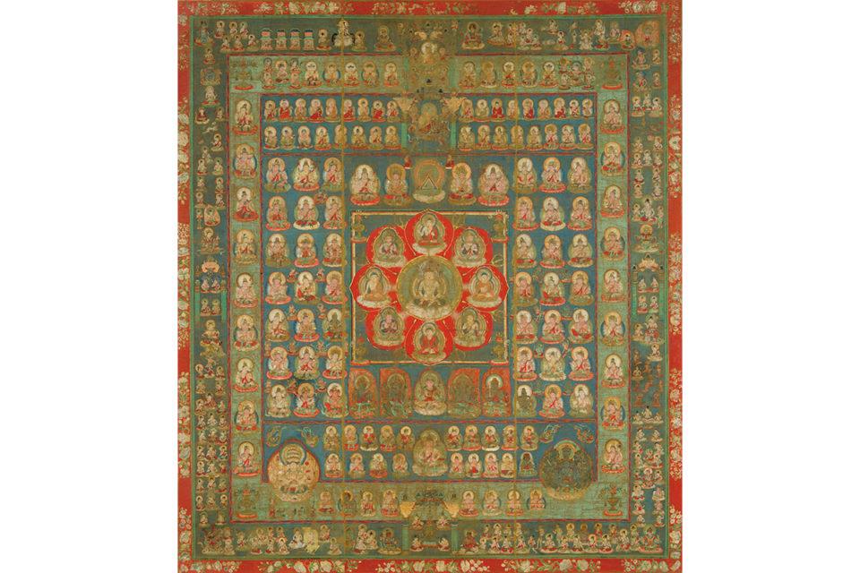 大日如来の慈悲を表現した「胎蔵界」<br><small>おさえておきたい曼荼羅の基本</small>