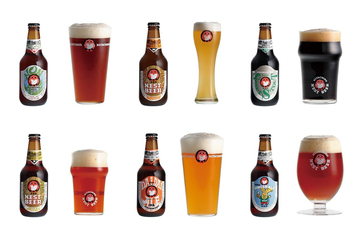 個性豊かな定番ビール<br>世界が注目、常陸野ネストビール