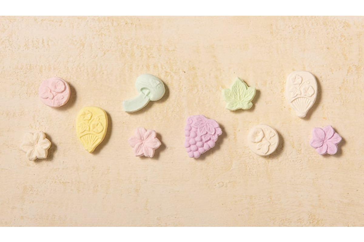 上品な風味の和三盆糖で作る<br>三谷製糖の「四季の華」<br><small>生産者からお取り寄せ。</small>