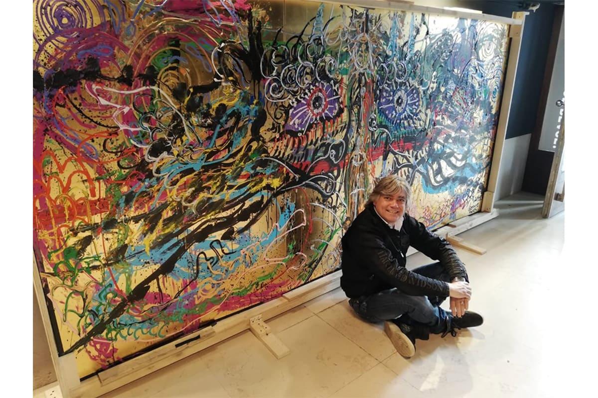 イタリアを代表する小松美羽コレクター<br>Luca Gentile Canal Marcante(アートコレクター/起業家)