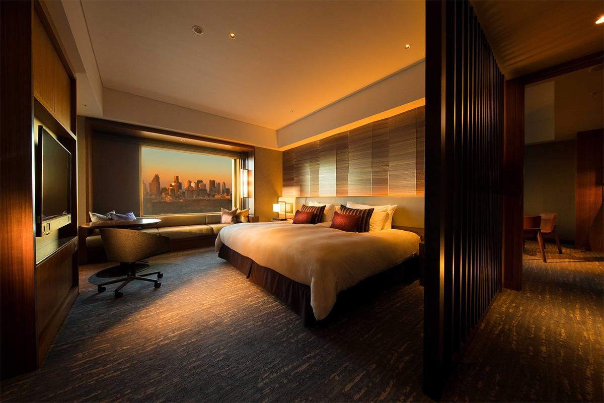 大都会の極上ビューを一望できる高層ホテル<br>『セルリアンタワー東急ホテル』