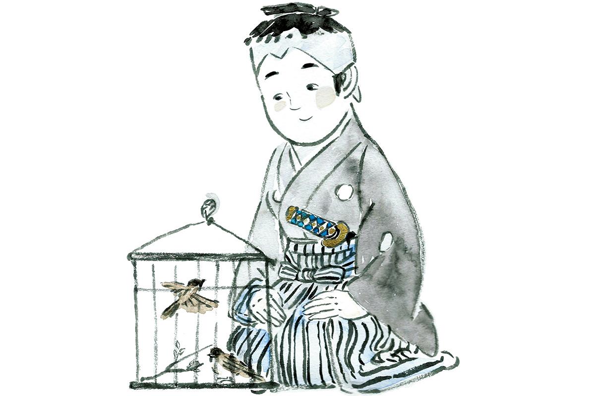 若君を守る幼子の運命やいかに。<br>「伽羅先代萩」政岡と千松<br><small>おくだ健太郎の歌舞伎キャラクター名鑑</small>