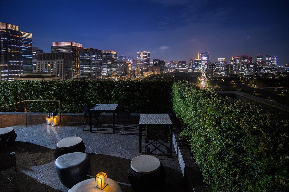 皇居外苑の森を望みながら美しい一日を過ごす『パレスホテル東京』
