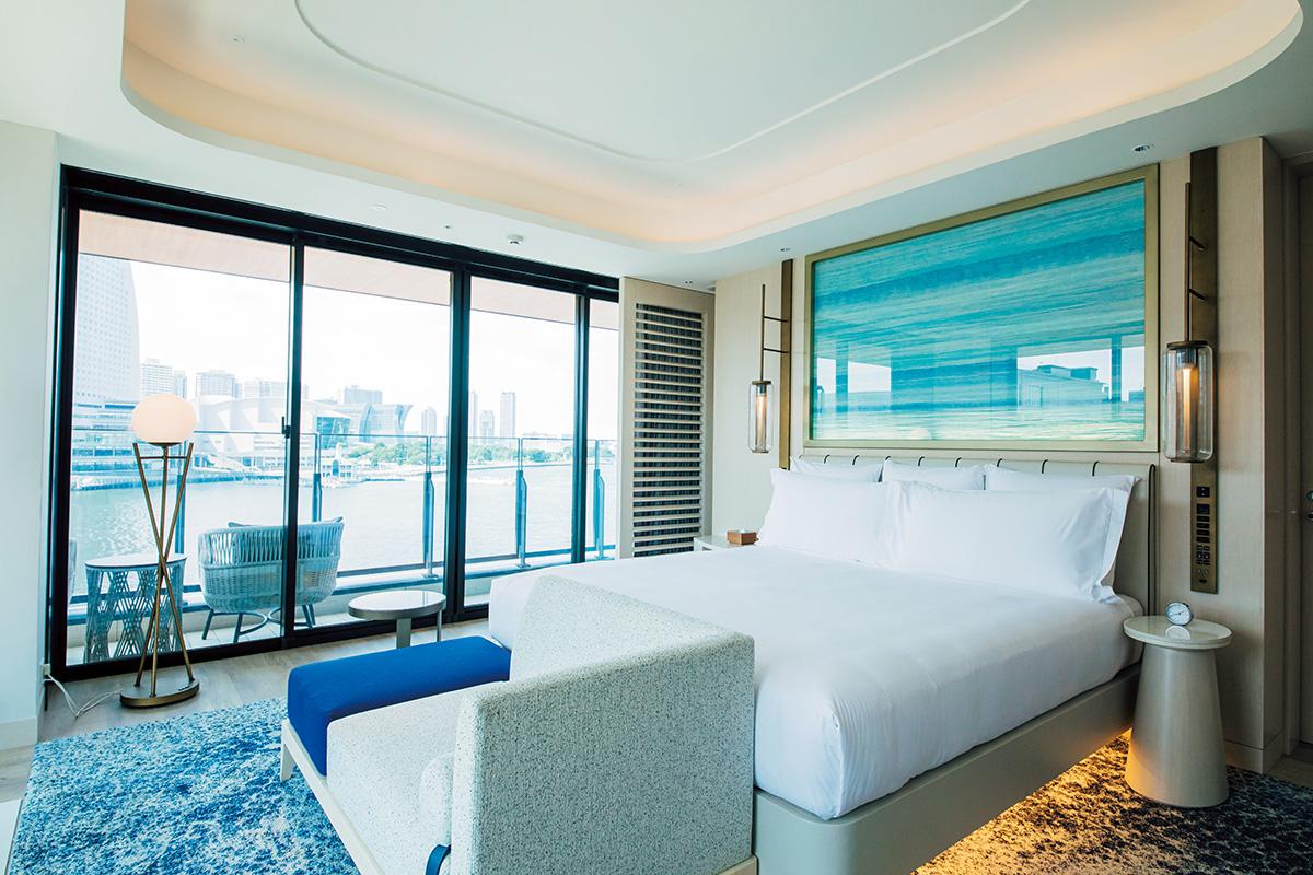 横浜の海に浮かぶホテルで贅沢な休日<br>インターコンチネンタル横浜 Pier 8</small>